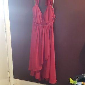 David's bridal red dress size 16